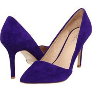 Aldo Purple Suede Heel